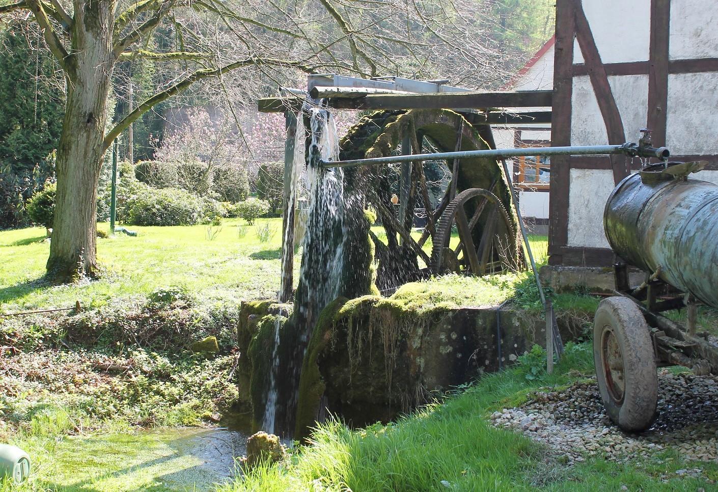 Herriehausen, antike Mühle auf Ehlers Hof Pension
