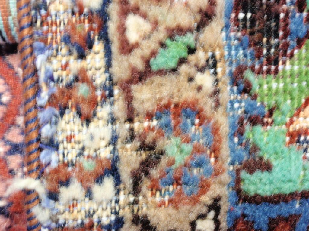 Motten schaden im Teppich