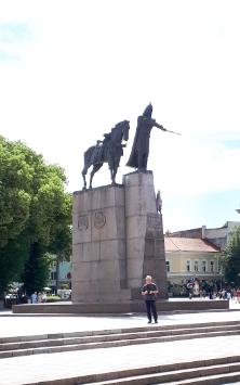 Großfürst Gedeminas und der Eiserne Wolf