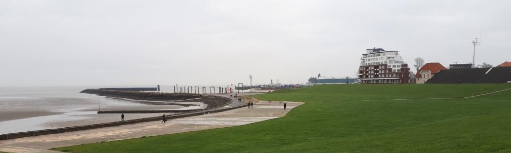 Blick Richtung Helgolandport