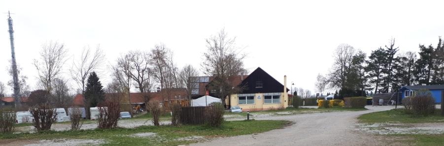Auf dem Campingplatz in Landsberg