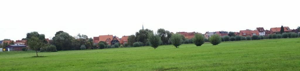 Blick auf Boizenburg
