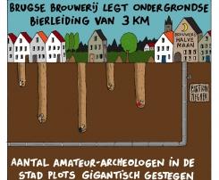 Die Bier-Pipeline lockt angebliche Archäologen  :- ))