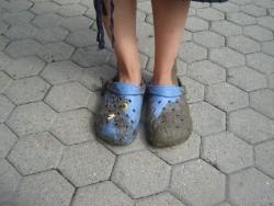 zieh deine Schuhe aus,du stehst auf heiligem Boden!
