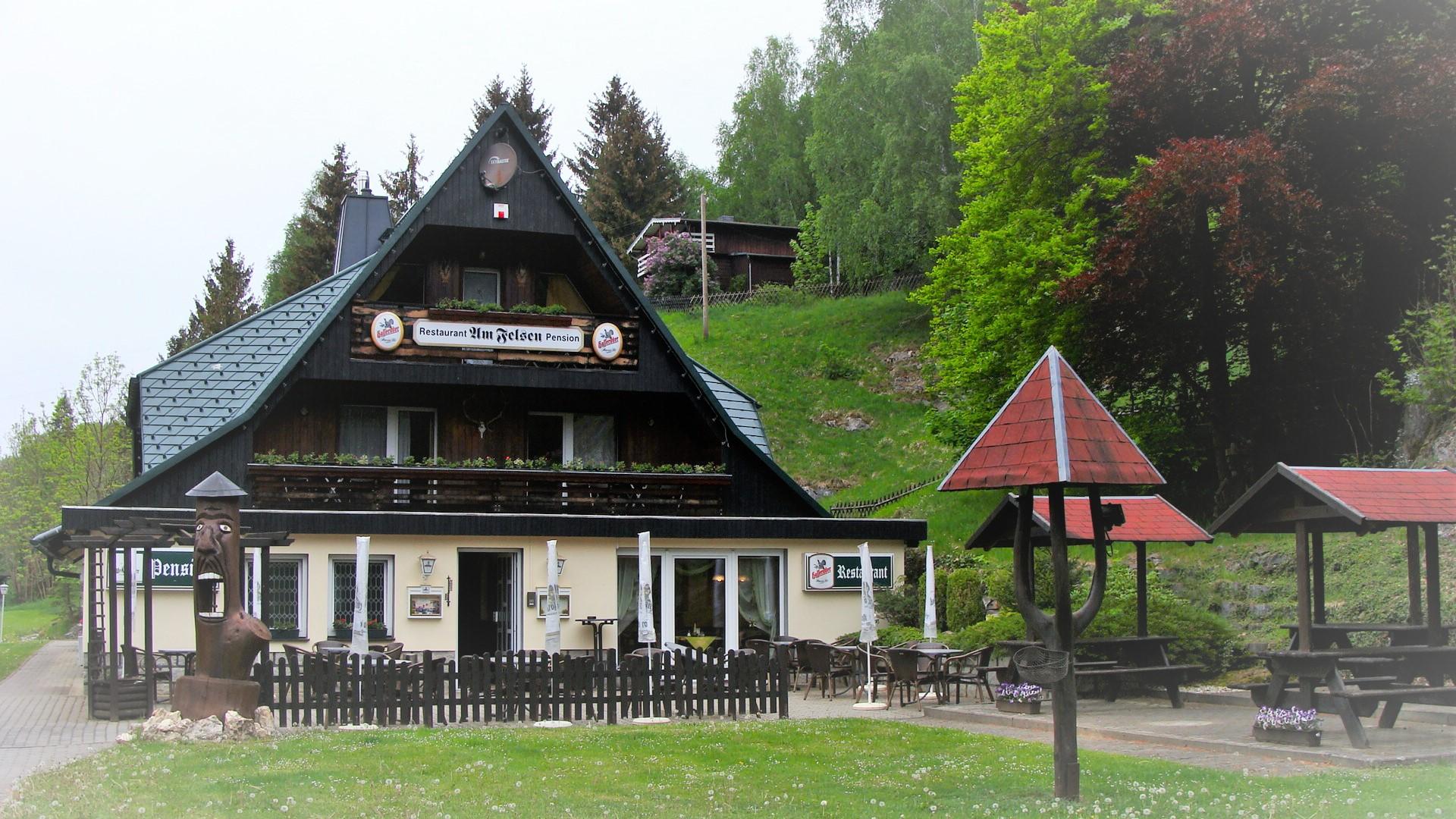 "Pension ""Am Felsen"" Königshütte"