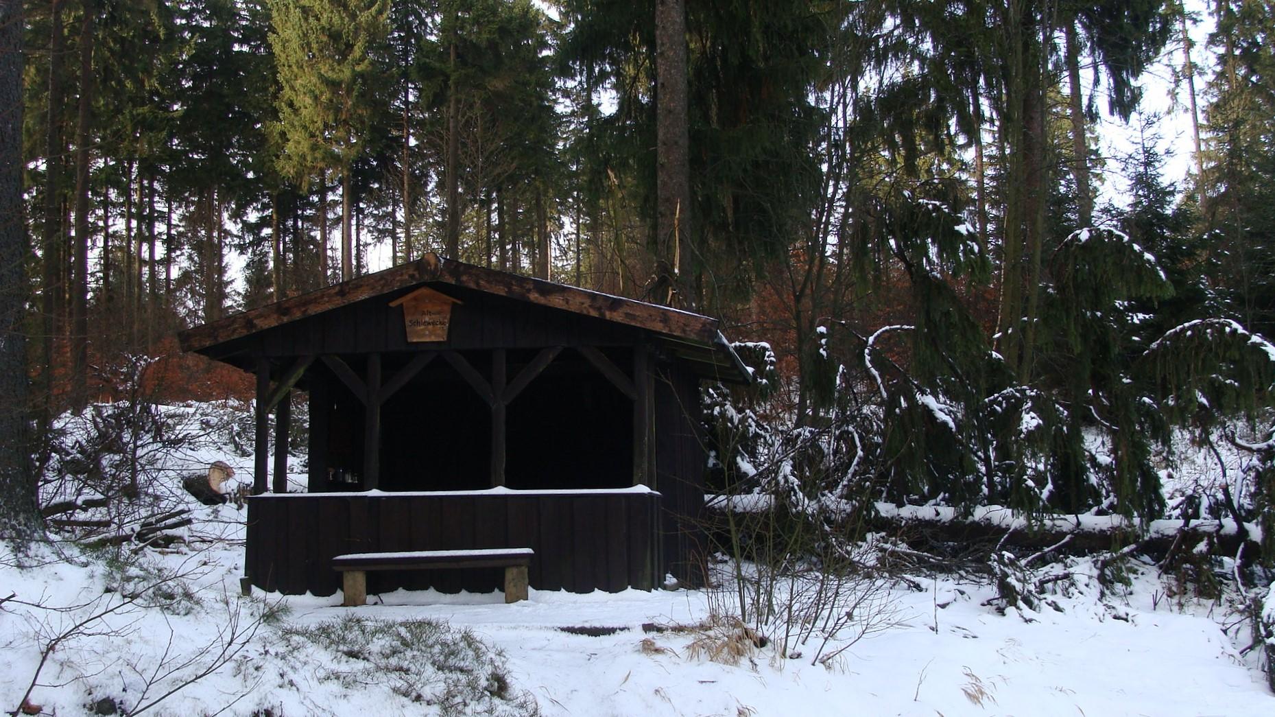 Schutzhütte Alte-Schlewecke
