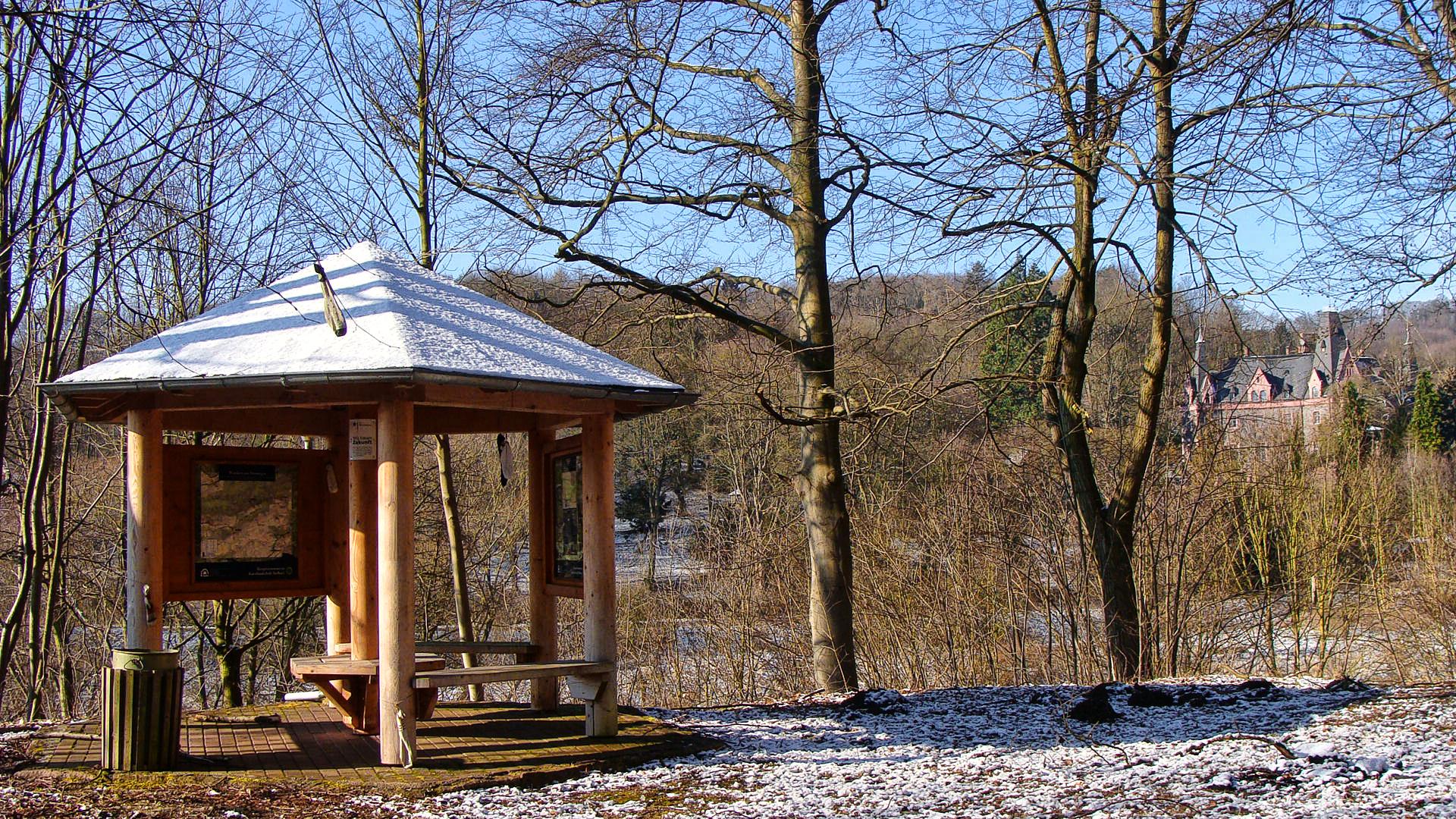 Schutzhütte Morungen im Bio Res Südharz