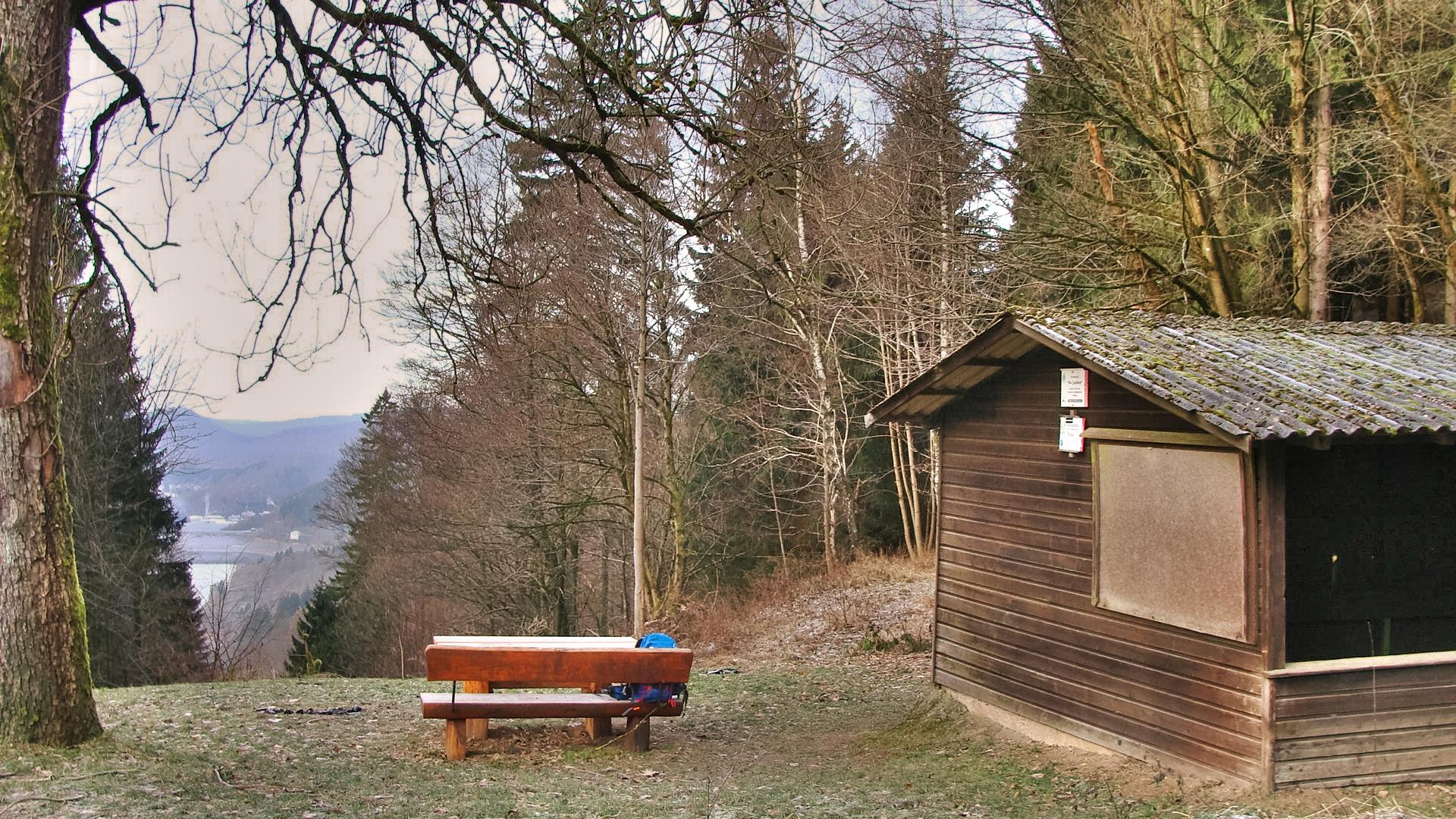 Schutzhütte am Jagdkopf