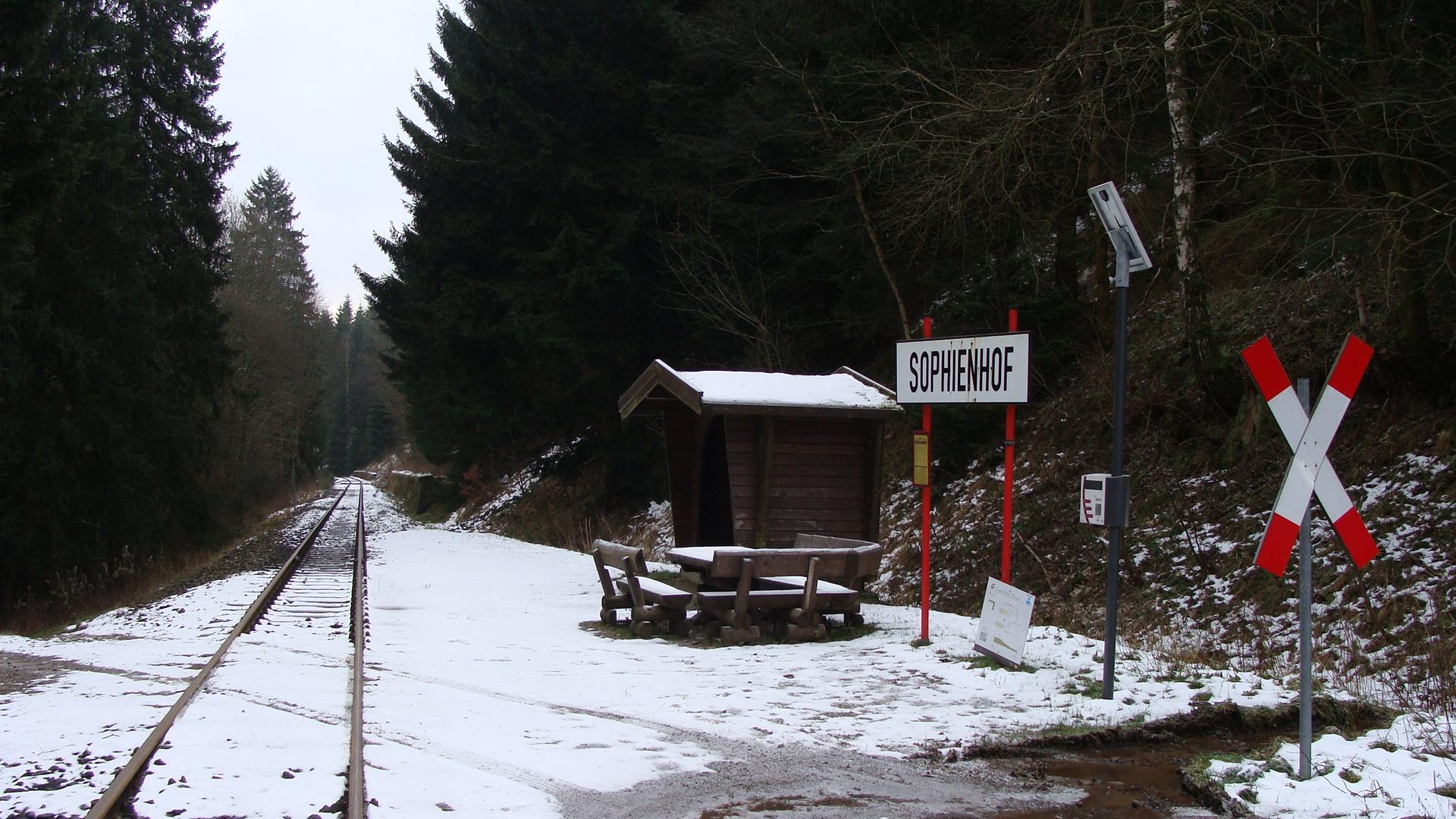 HSB Bahnhof Sophienhof