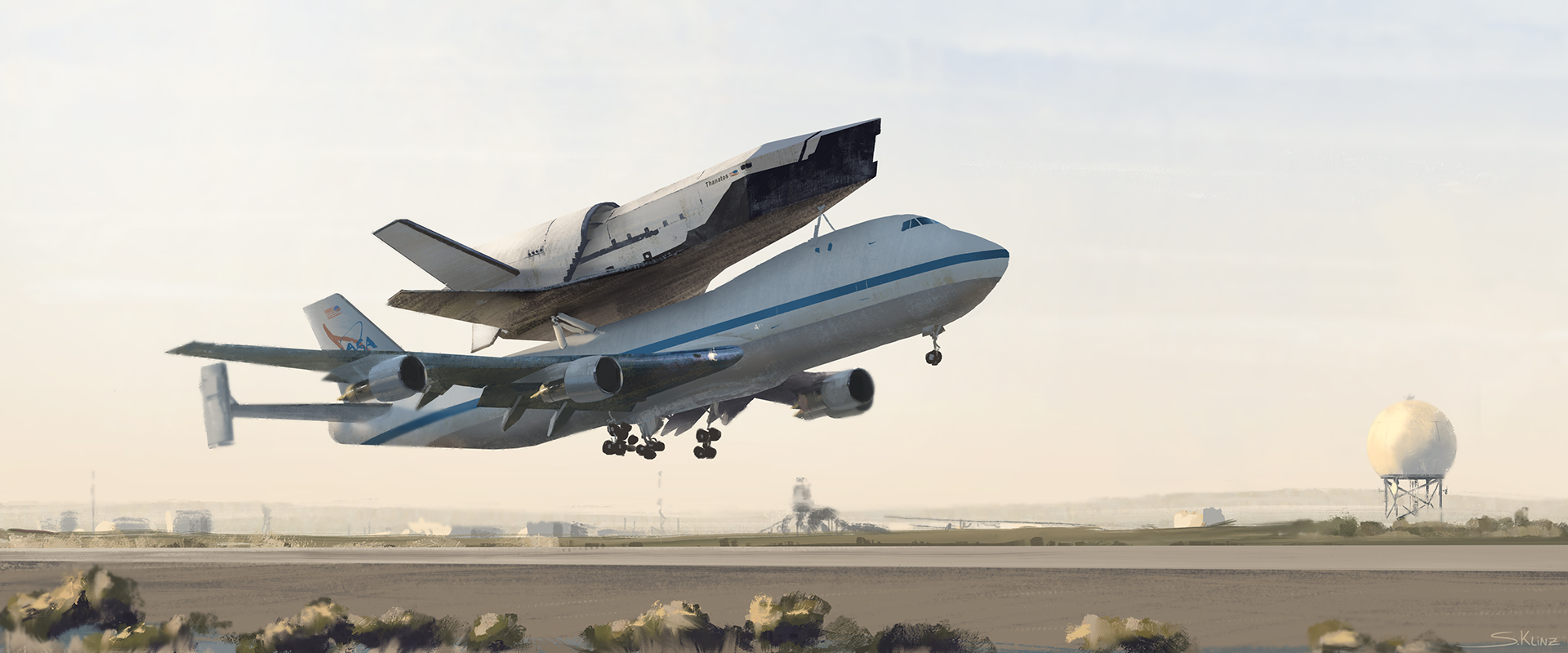 """OTV-32"" Drone shuttle design"