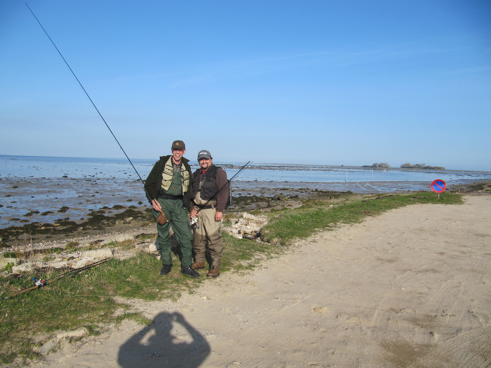 Stefan & Micha am Ebbevey nach Aebeloe