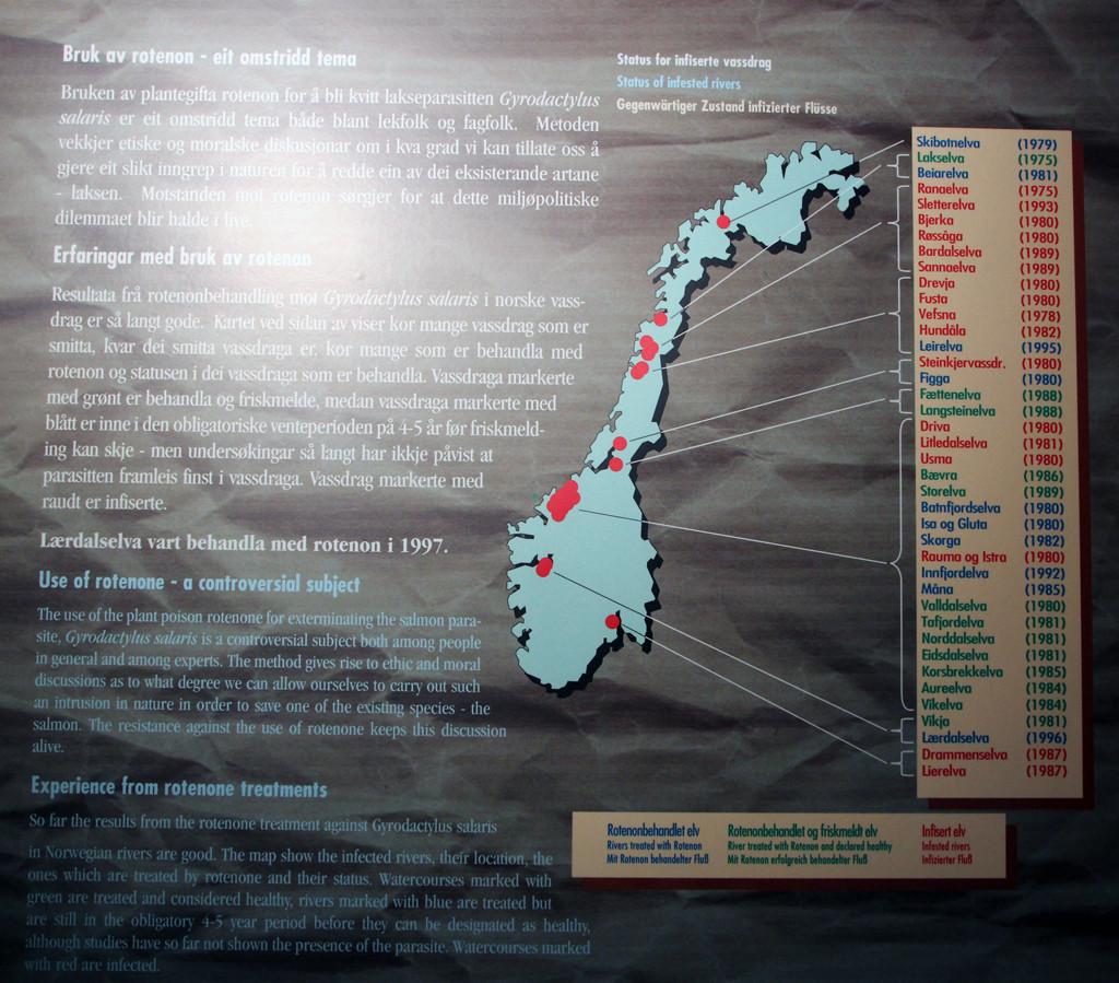 Verbreitung der Giardia Parasiten und deren Bekämpfung in Norwegens Flüssen