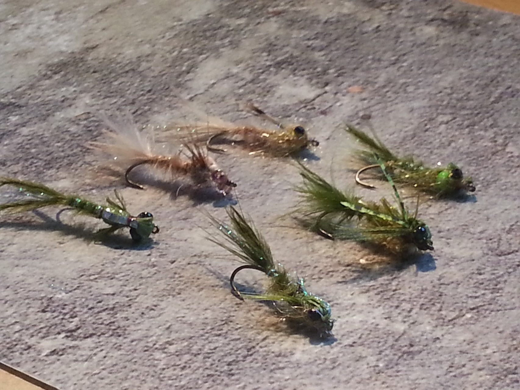 Damselflies Libellenlarven
