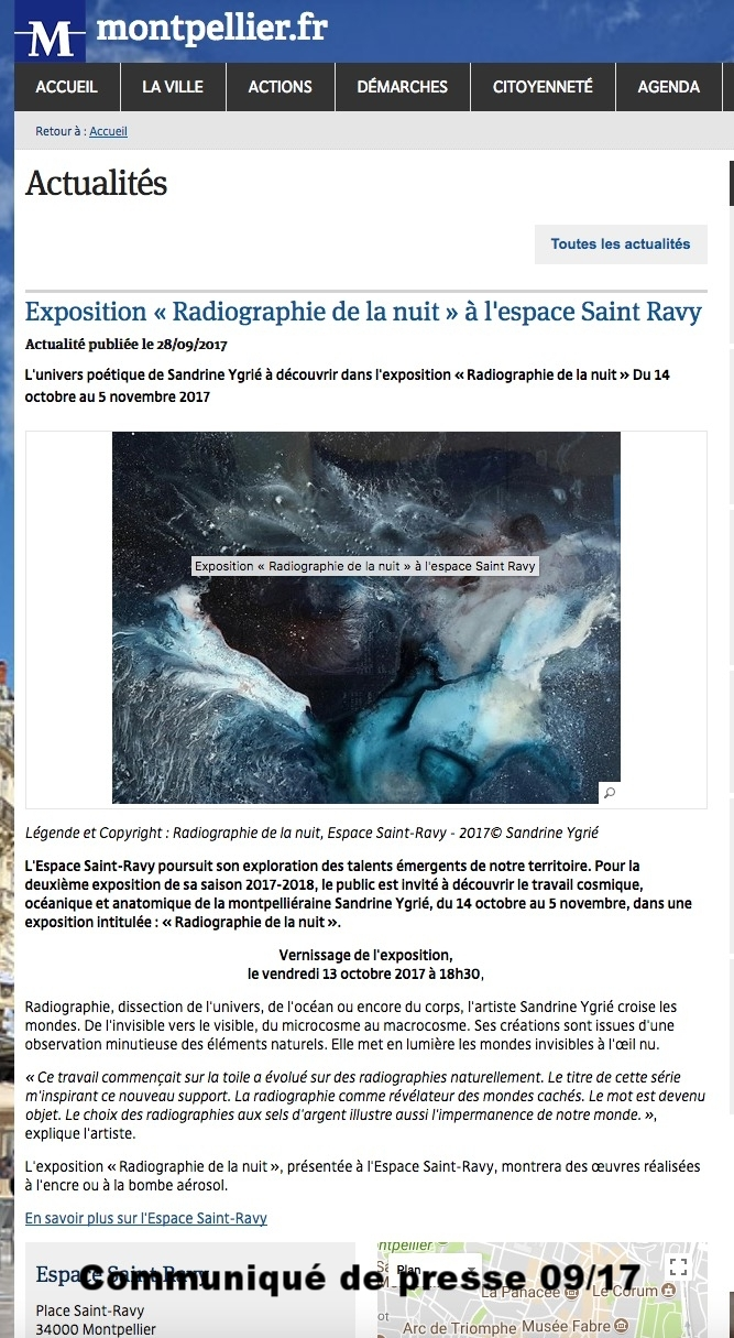 Communiqué Presse-Ville de Montpellier-sept /17