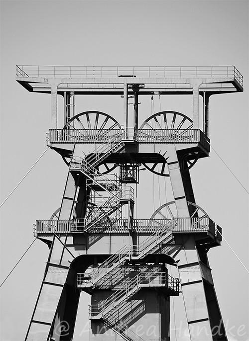 Förderturm im Werk Philippsthal
