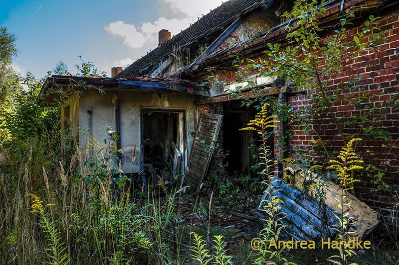 letzte Reste eines devastierten Ortes