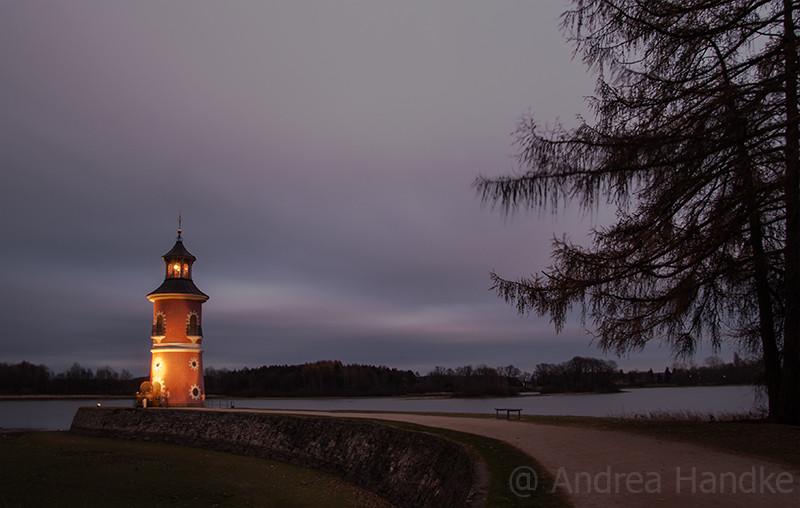 Leuchtturm mit Mole
