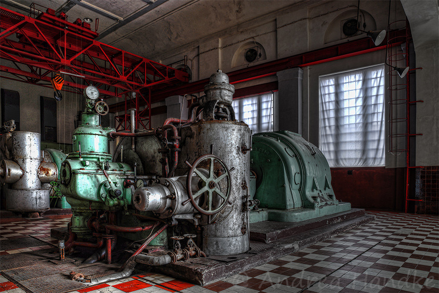 Generatorenhalle