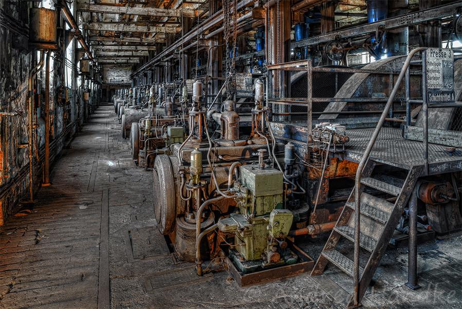 Kohlenpressen