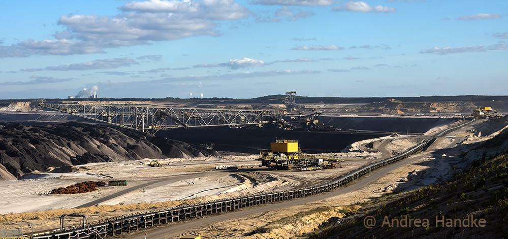 Abraumförderbrücke F60 im Tagebau Welzow