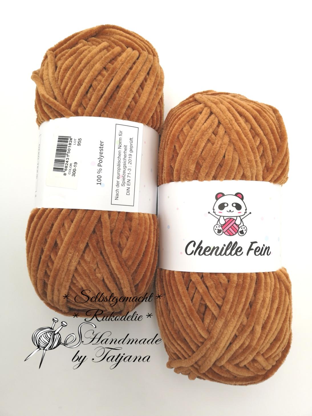 Chenille Fine nach DIN EN71-3 neu im Shop
