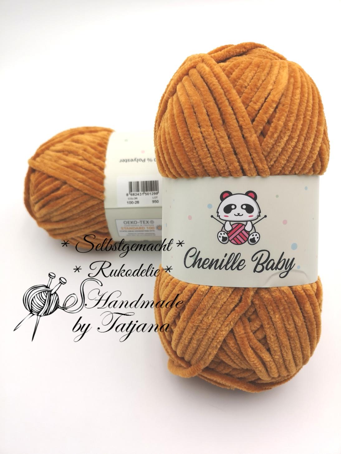 Chenille Baby nach DIN EN71-3  100%Polyester neu im Shop