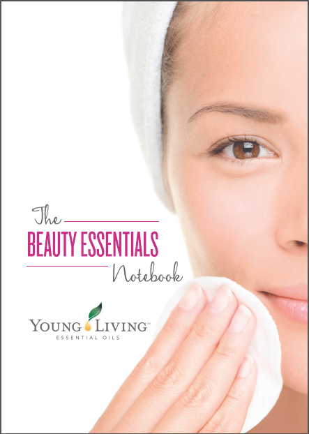 """The Beauty Essentials Notebook"" für die Beauty School 2018, Umschlag, A5, Young Living Europe"