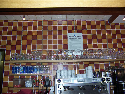 Bar (détail)