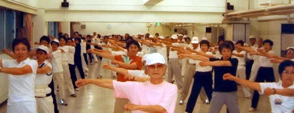 東久留米市ラジオ体操連盟 活動の様子