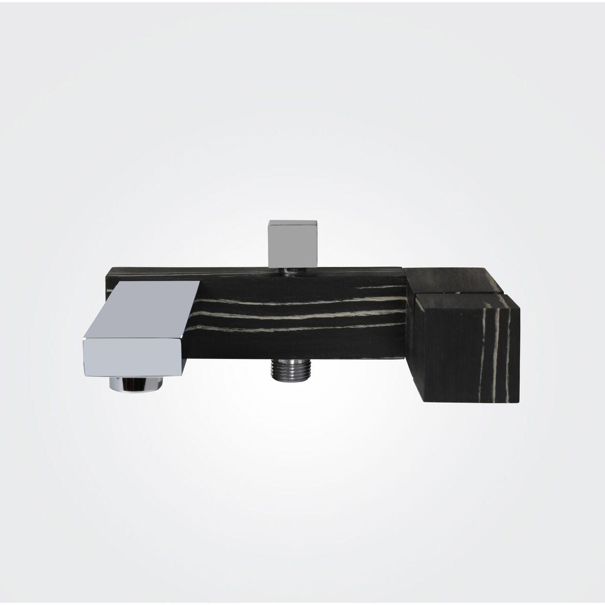 Wannenfüllarmatur GHD03 (Ausführung Ebenholz schwarz/weiß)