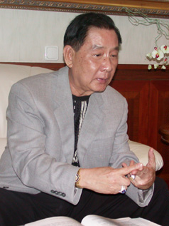 Jacobus Busono, owner and president of  Indonesia-based Pura Group