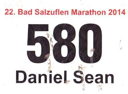 Bad Salzuflen (Block-)Marathon - 26 km - Startnummer