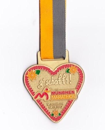 München Marathon 2012 - Medaille