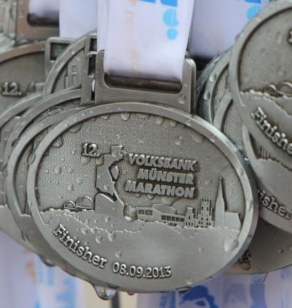 Münster Marathon 2013 - Medaille