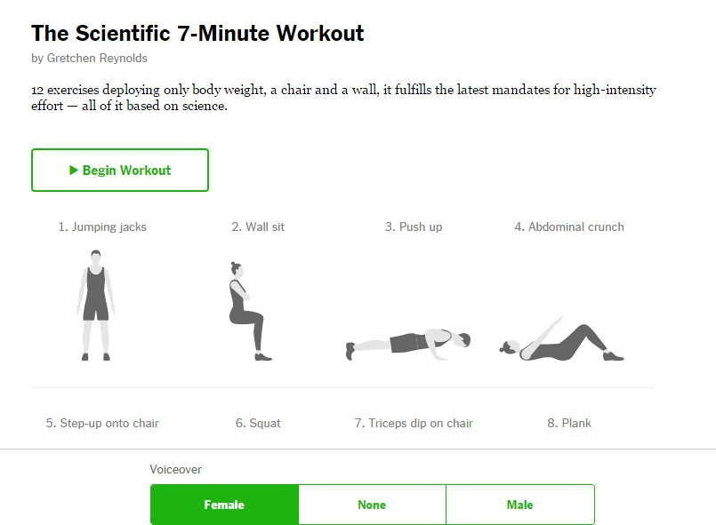 Workout - 7 min. Training