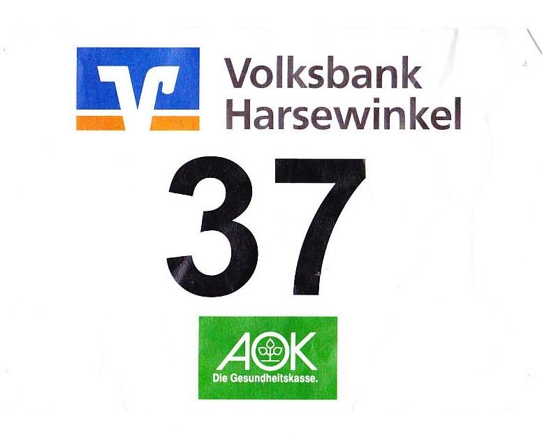 Nightrun Harsewinkel 2013 - Startnummer