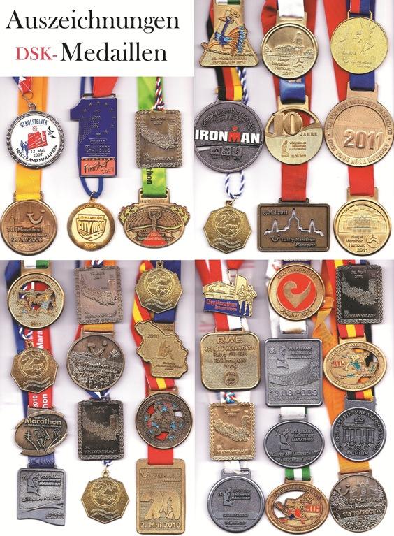 Auszeichnungen - Medaillen (Auswahl) - Daniel Sean Kaiser