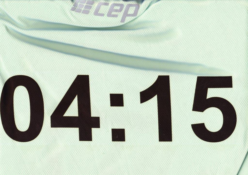 Bremen Marathon 2012 - Pacemaker-Shirt 04:15
