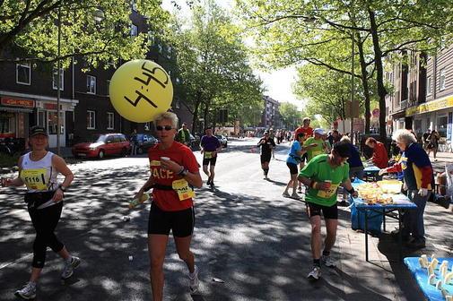 Arjanne  von Heijningen - Hannover Marathon 2011
