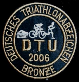 DTU - DeutscheTriathlon Union - Abzeichen 2006