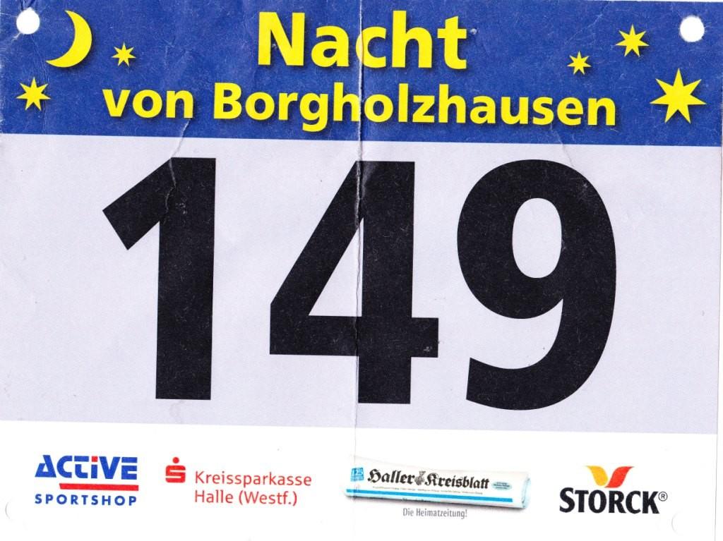 Die Nacht von Borgholzhausen 2013 - Startnummer