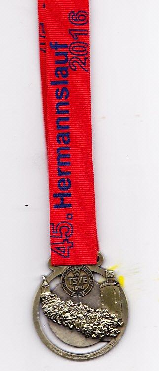 Hermannslauf 2016 - Medaille