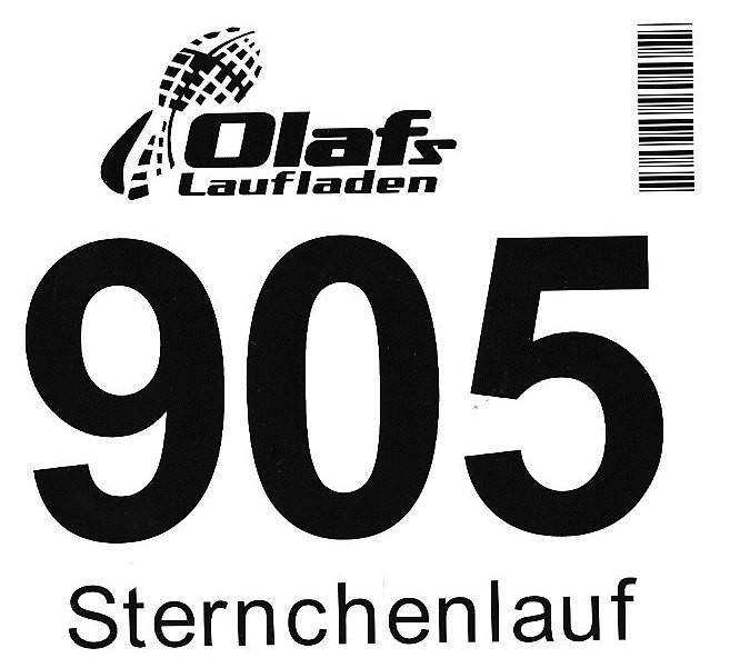Sternchenlauf 2013 - Startnummer