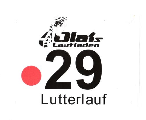 Lutterlauf 2016 - (Halb-)Marathon - Startnummer