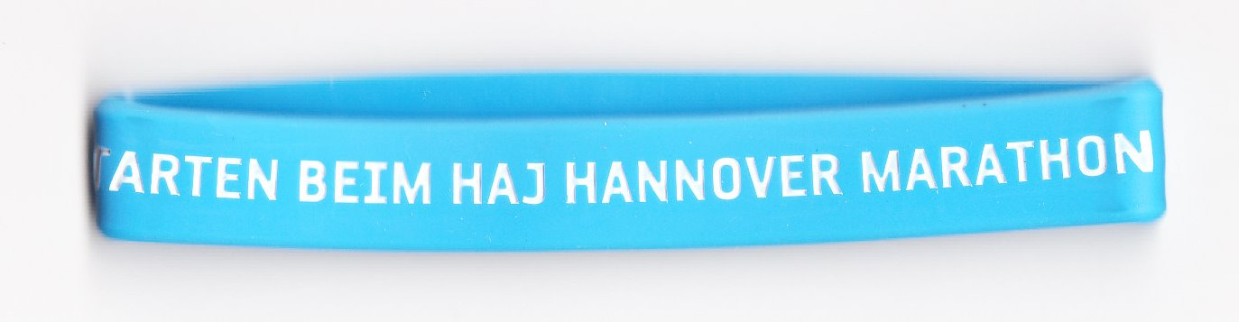 Hannover Marathon 2018 - Silicone Wristband
