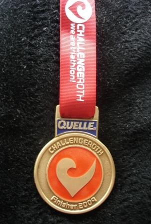 Challenge Roth 2009 - Medaille