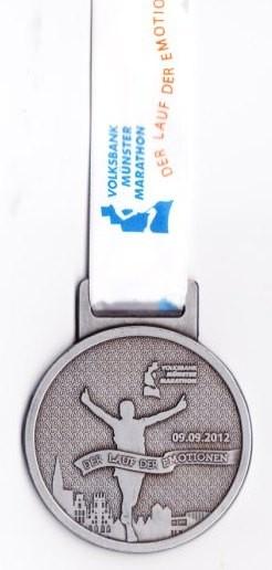Münster Marathon 2012 - Medaille