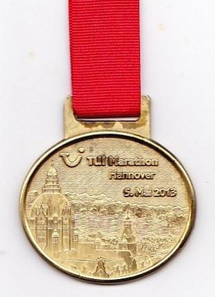 Hannover Marathon 2013 - Medaille