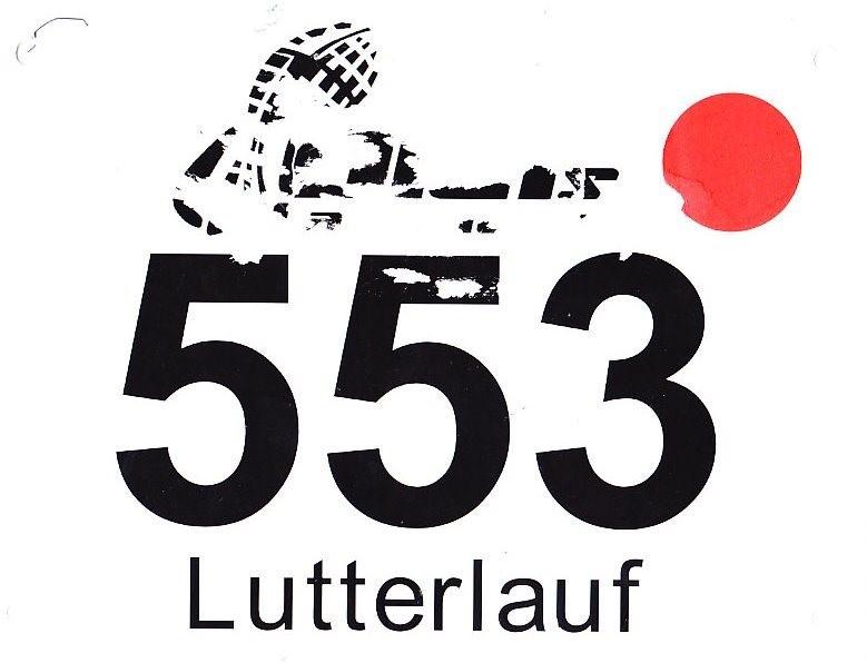 Lutterlauf Marienfeld 2015 - Startnummer