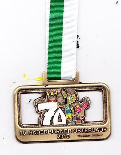 PB Osterlauf 2016 - Medaille